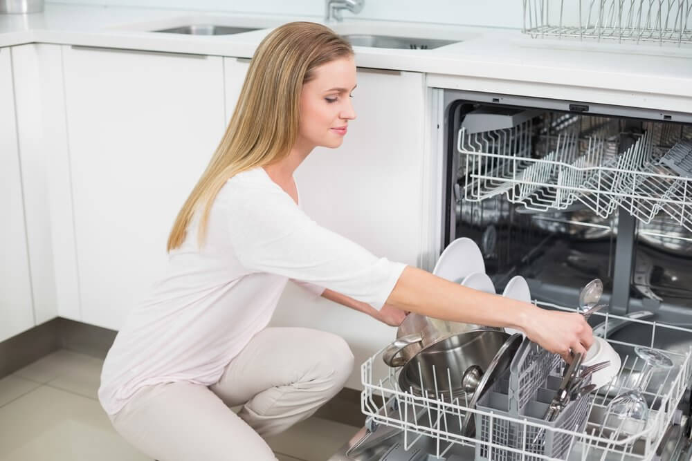 loading the diswasher