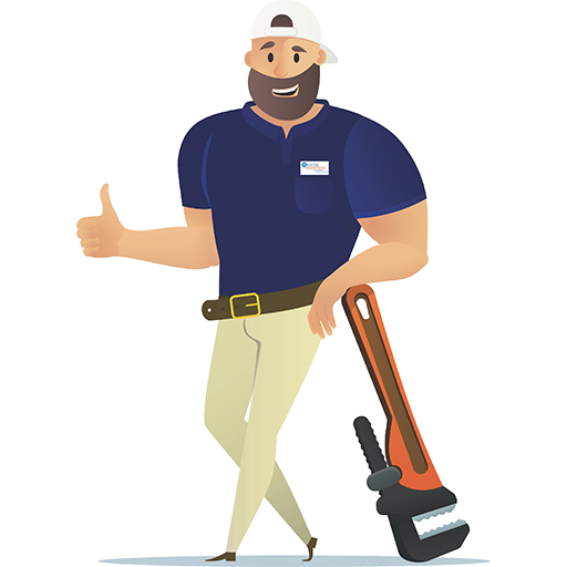 24 Hour Rooter Connectionz plumber cartoon